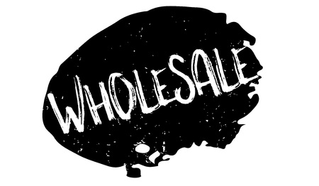 Wholesale rubber stamp. Grunge design with dust scratches. Effects can be easily removed for a clean, crisp look.