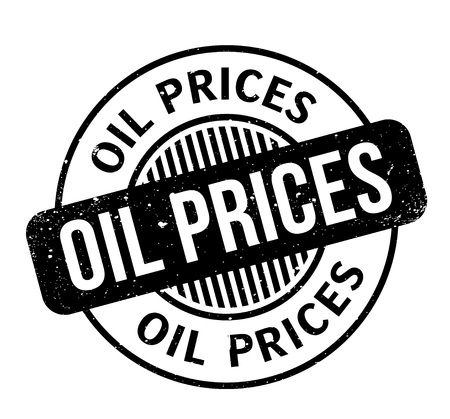 Oil Prices rubber stamp. Grunge design with dust scratches. Vectores