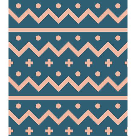 Northern wool seamless pattern. For print, fashion design, wrapping wallpaper Ilustração
