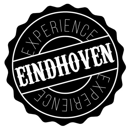 Eindhoven stamp. Typographic label, stamp or icon