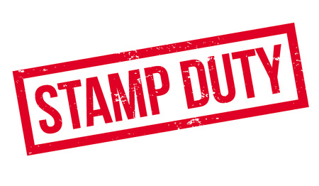 Stamp Duty rubber stamp. Grunge design with dust scratches. Effects can be easily removed for a clean, crisp look. Color is easily changed. Banque d'images - 95875435