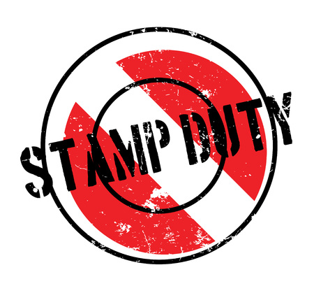 Stamp Duty rubber stamp. Grunge design with dust scratches. Effects can be easily removed for a clean, crisp look. Color is easily changed.
