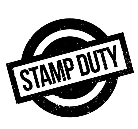 Stamp Duty rubber stamp. Grunge design with dust scratches. Effects can be easily removed for a clean, crisp look. Color is easily changed. Banque d'images - 95875509