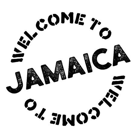 Jamaica typographic stamp. Typographic sign, badge Illustration