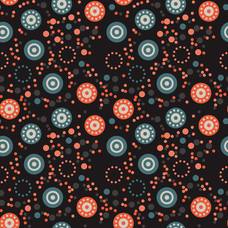 Strange flowers seamless pattern. Autentic design for textile, print or digital.