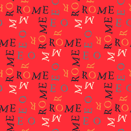 Word Rome pattern