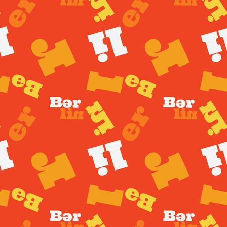 Berlin word pattern design