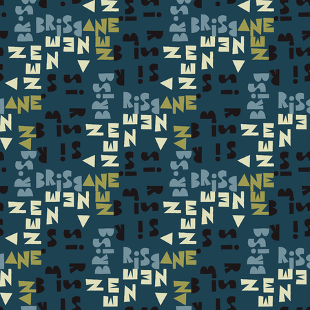 Brisbaine  seamless pattern. artistic design for background.