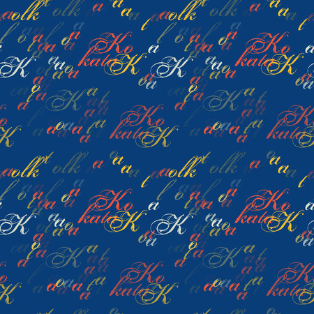 Kolkata seamless pattern. Authentic artistic design for background.