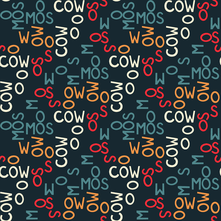 Moscow  seamless pattern. Autentic artistic design for background. Illustration