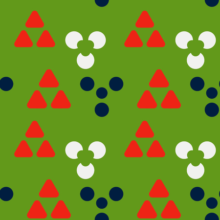 Cave signs symmetry seamless pattern. Suitable for screen, print and other media.
