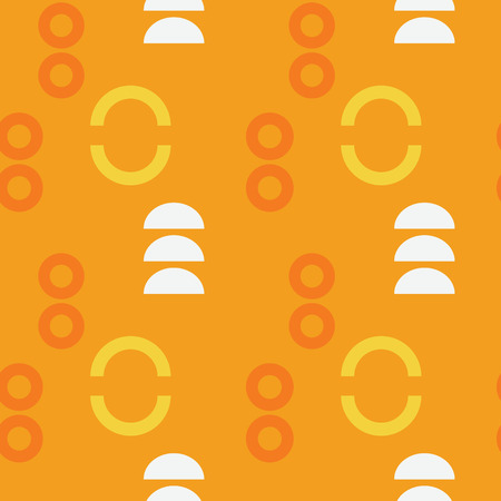 Graphic pop up figure seamless pattern. Suitable for screen, print and other media.