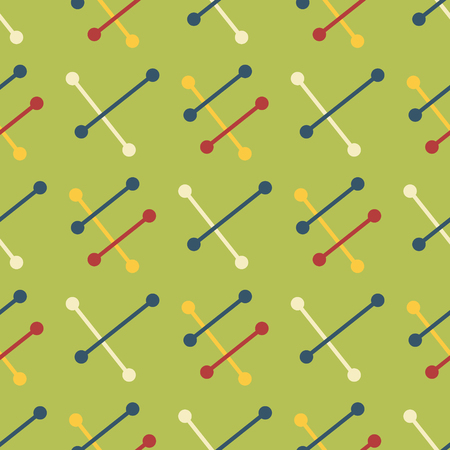 Vintage space adventure seamless pattern. Suitable for screen, print and other media.