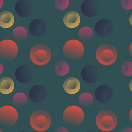 Bubble stone floating seamless pattern. Suitable for screen, print and other media. Illustration