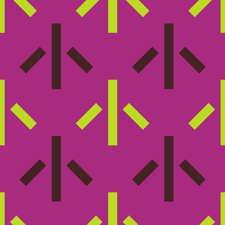 Up and away seamless pattern. Strict line geometric pattern Vector illustration.