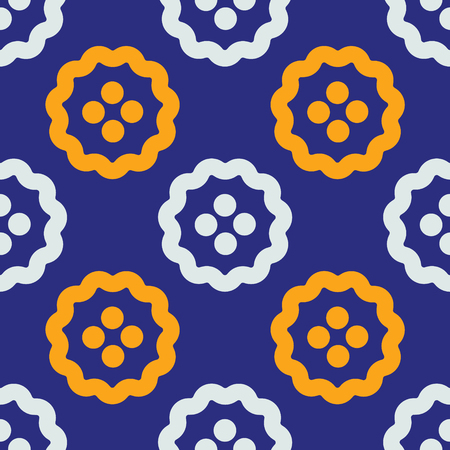 Stranger fruits seamless pattern. Strict line geometric pattern for your design.