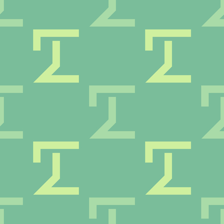Strong build seamless pattern. Strict line geometric pattern for your design.