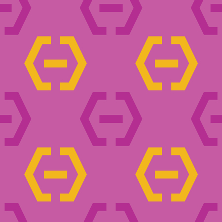 Locker fixed seamless pattern. Strict line geometric pattern for your design. Illustration