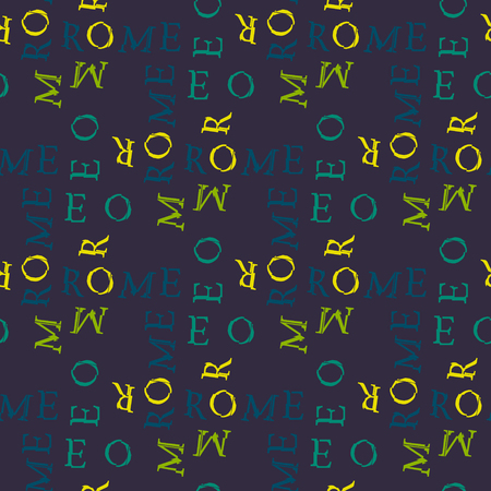 Rome seamless pattern. Creative design for various backgrounds.