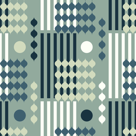 Graphic vintage vertical seamless pattern. Suitable for screen, print and other media.