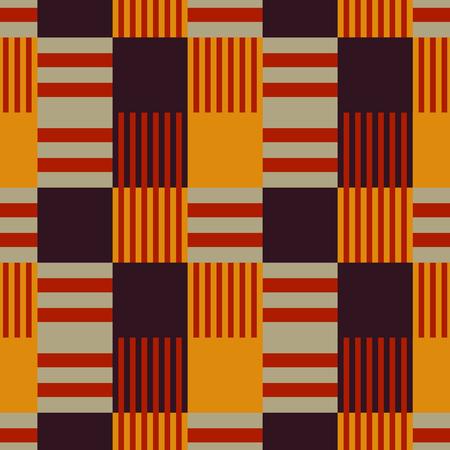 Vertical dominance seamless pattern. Vector illustration.