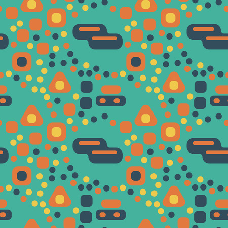 Busy city streets seamless pattern. Suitable for screen, print and other media.
