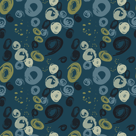 Grunge stains seamless pattern. Authentic design for digital and print media. Ilustrace