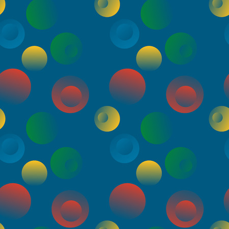 Bubble stone floating seamless pattern. Suitable for screen, print and other media. Ilustrace