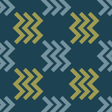 Zig zag right seamless pattern. Strict line geometric pattern for your design.