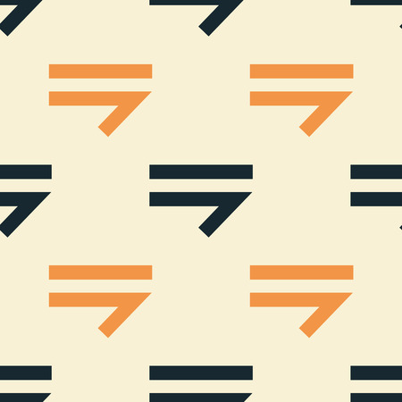 Arrow right seamless pattern. Strict line geometric pattern for your design. 向量圖像
