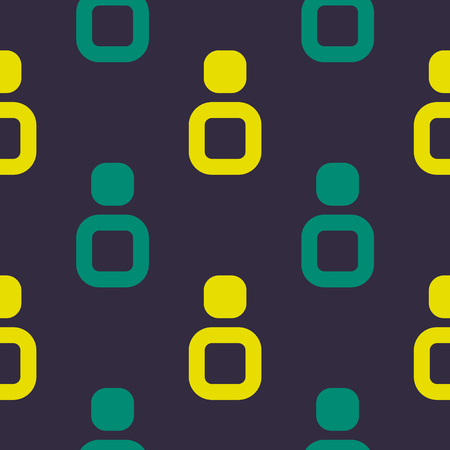 Direction up seamless pattern. Strict line geometric pattern for your design. Ilustrace