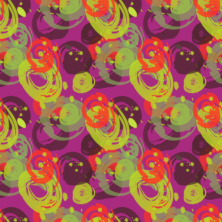Painted wall seamless pattern. Authentic design for digital and print media. Illustration