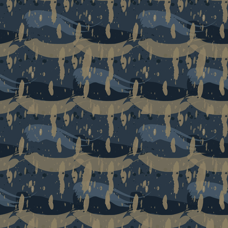 Fresh paint seamless pattern. Authentic design for digital and print media.