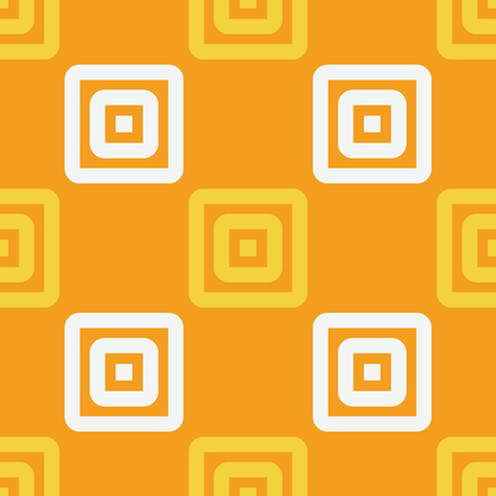 Strong rectangular seamless pattern. Strict line geometric pattern for your design.
