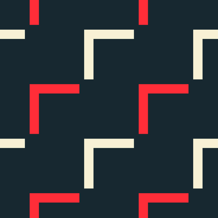 Endless diagonal flow seamless pattern. Strict line geometric pattern for your design.