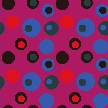 Bubble eye seamless pattern. Suitable for screen, print and other media. Illustration