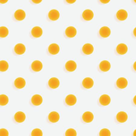 Polka dots 3d seamless pattern. Three dimensional depth series.