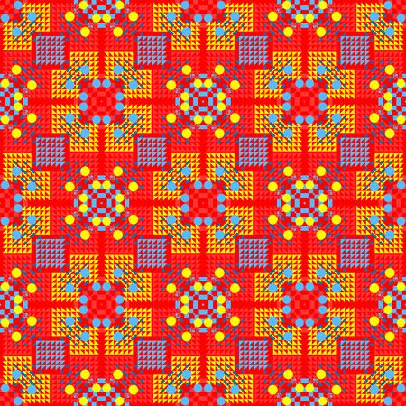 Geometric tiles pattern Illustration