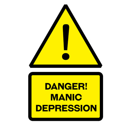 Danger manic depression warning sign