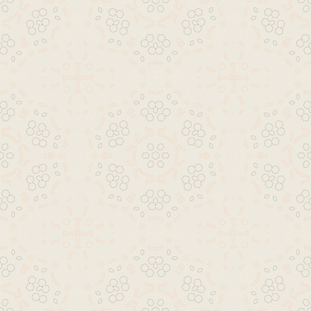 Biomorphic geometric seamless pattern, abstract colorful background, texture  イラスト・ベクター素材