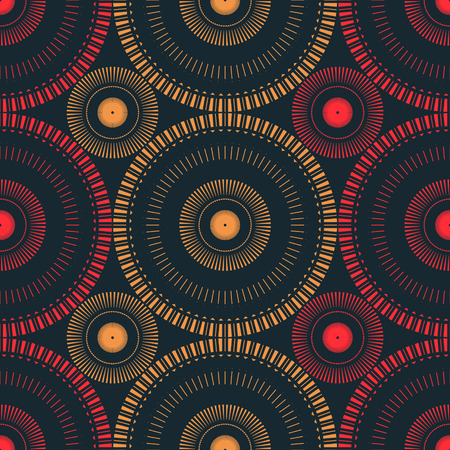 Circular large scale seamless pattern, abstract colorful background, texture.
