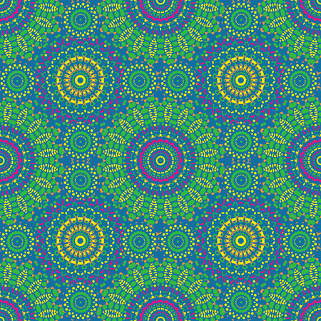 Geometric flower like seamless pattern, abstract colorful background, texture. seamless pattern, abstract colorful background, texture.