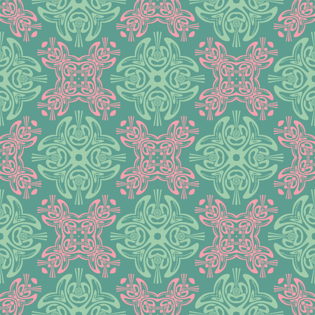 Tribal, asian like seamless pattern, abstract colorful background, texture. seamless pattern, abstract colorful background, texture