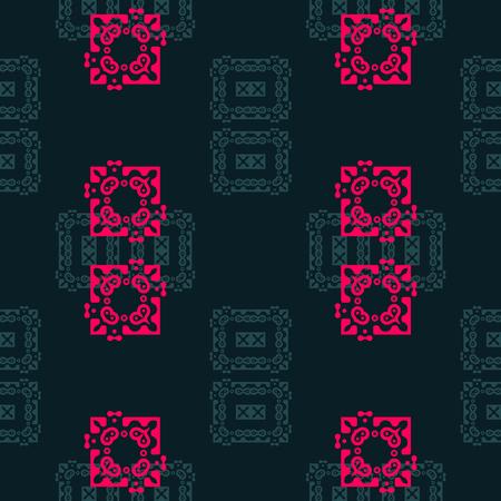 Asian, oriental feel seamless pattern, abstract colorful background, texture. seamless pattern, abstract colorful background, texture Illustration