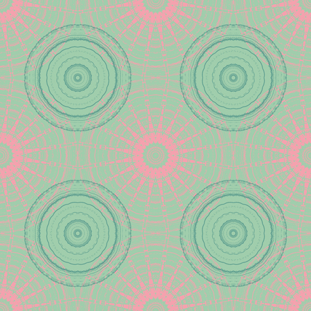 circular umbrella like seamless pattern, abstract colorful background, texture. seamless pattern, abstract colorful background, texture. Ilustração