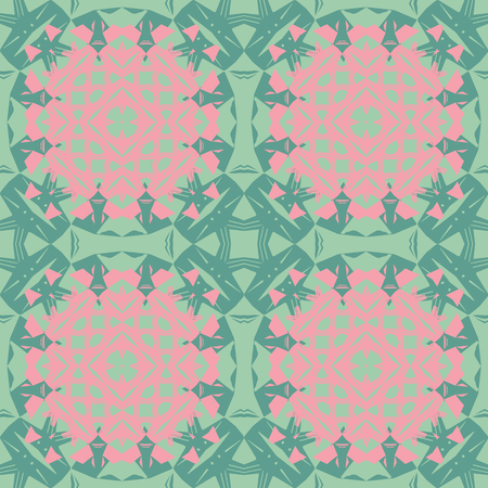 Tribal like asian feel seamless pattern, abstract colorful background, texture.