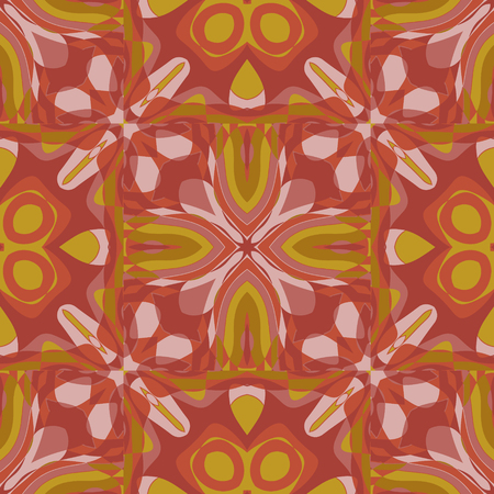 Flower like tribal feel semi transparent large scale seamless pattern, abstract colorful background, texture.