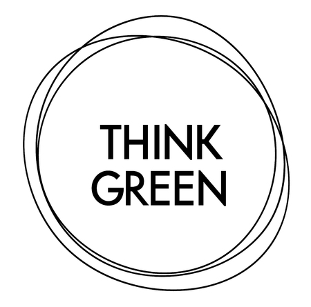 think green label