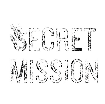 Secret Mission stamp