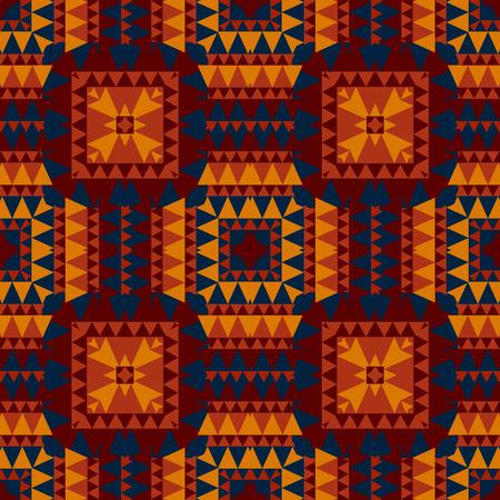 Geometrische tegels naadloze patroon, abstracte kleurrijke achtergrond, texture Vector Illustratie